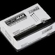 Шпильки цветные, JOBMAX, 34 мм, 100 шт. в пласт. коробке