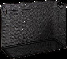 $Короб для подвесных файлов 315x140x245мм, металлический, черный