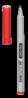 Маркер водост., красный,  JOBMAX, 0,6 мм, спиртовая основа