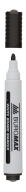 Маркер для магн. сухост. досок, черный,  JOBMAX, 2-4 мм, спиртовая основа