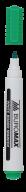 Маркер для магн. досок, зеленый,  JOBMAX, 2-4 мм, спиртовая основа