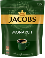 /Кофе растворимый Jacobs Monarch, 120г , пакет