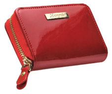 "@Футляр для пластиковых карт ""Glaze"" 11.8х7.6х2.7см, красный"