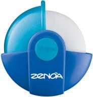 Ластик ZENOA в поворотном защитном футляре, дисплей, ассорти