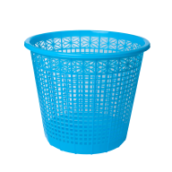 /Корзина для бумаг пластиковая, синяя, 8л, KIDS Line