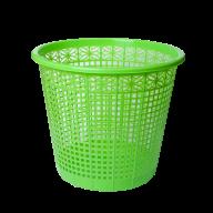/Корзина для бумаг пластиковая, салатовая, 8л, KIDS Line