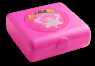 @Контейнер для еды, 138х147х55мм, розовый, KIDS Line