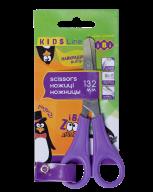 Ножницы детские 132мм с линейкой, фиолетовый, KIDS Line