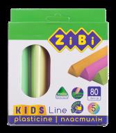 Пластилин 5 цветов неон, 80 г, KIDS Line