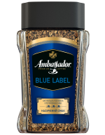 /Кофе растворимый Ambassador Blue Label, сткл.б. 95г*10