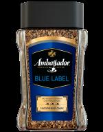 /Кофе растворимый Ambassador Blue Label, сткл.б. 190г*8 (7612)