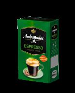 /Кофе молотый Ambassador Espresso, вак.уп. 450г *12 (PL)