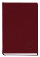 /Книга алфавитная А6, 80лист., 100х190мм, баладек бордо