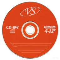 @/Диск CD-RW, 700Mb, 4-12х, Slim