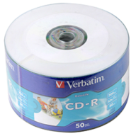 /Диск CD-R, 700Mb, 52х, 80min, Shrink (50)