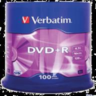 /Диск DVD+R, 4,7Gb 16х Cake (100)