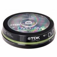 /Диск DVD-RW, 4.7Gb, 2x-4х, Cake (10)
