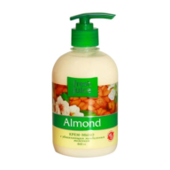 $/Крем-мыло жидкое FRESH JUICE 460 мл с увлажняющим миндальным молочком Almond