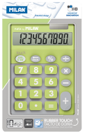 Калькулятор, 10 разр., DUO, салатовый