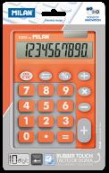 Калькулятор, 10 разр., DUO, оранжевый