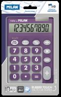 Калькулятор, 10 разр., DUO, фиолетовый