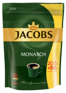 /Кофе растворимый Jacobs Monarch, 250г , пакет