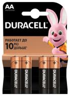 /(15996) Эл.питания (батарейка) DURACELL LR6 (AA), 4шт/упак/15996
