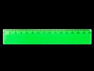 /Линейка 15см, прозрачная, зеленая