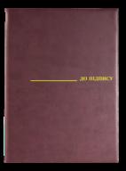 "08-5411-3 Папка ""До підпису"" (А4,борд.,винил)"