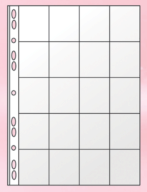 06-1510-0 Файл для 20 монет А4 (11отв., PVC)