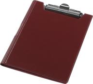 @$Клипборд-папка А4, винил, бордовый