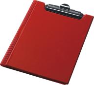 Клипборд-папка А4, PVC, красный