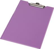 Клипборд-папка А5, PVC, фиолетовый