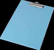 @Клипборд А4, PVC, голубой