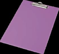 Клипборд А4, PVC, фиолетовый
