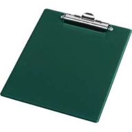 @$Клипборд А5, PVC, зеленый