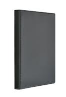"""Регистратор """"Панорама"""" A4/4R/25 PVC, черный"""