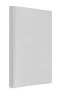 "Регистратор ""Панорама"" A4/4R/25 PVC, белый"
