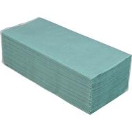 /Полотенца макулатурные V-образные.,200шт., зеленый