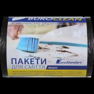 /Пакеты для мусора 35л/100шт, прочные, черные BuroClean EuroStandart