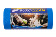 /Пакеты для мусора 60л/20 шт, крепкие, синие, 600х800мм, 21мкм  BuroClean EuroStandart