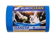 /Пакеты для мусора 60л/40 шт, крепкие, синие,  600х800мм, 21мкм BuroClean EuroStandart