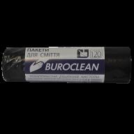 /Пакеты для мусора 120л/10шт, черные BuroClean ECO