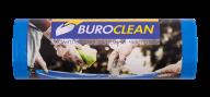 /Пакеты для мусора 120л/10 шт, крепкие, синие,  700х1050мм, 22мкм BuroClean EuroStandart