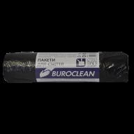 /Пакеты для мусора 160л/10шт, черные BuroClean ECO