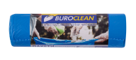 /Пакеты для мусора 160л/10 шт, крепкие, синие, 900х1200мм, 24мкм  BuroClean EuroStandart