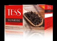 """/Чай черный 1.8г х 50, пакет, """"Sunrise"""", TESS"""