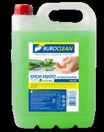 /Крем-мыло жидкое антибактериальное BuroClean EuroStandart 5л АЛОЭ ВЕРА