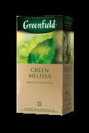 """/Чай зелёный 1,5г*25, пакет, """"Green Melissa"""", GREENFIELD"""