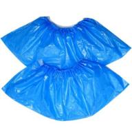 /Бахилы полиэтиленовые голубые, 50 пар / уп, BuroClean